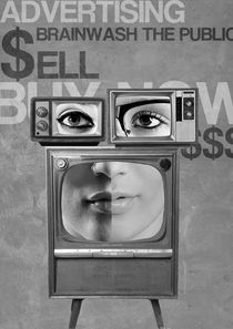 Television-face-advertising