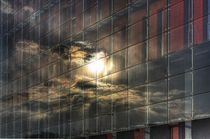 Sunset in windows by athrian