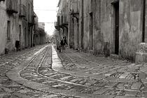 Sizilianische Strolche - They are coming ... Erice Sicilia by captainsilva