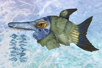 Blauer Fisch by pahit