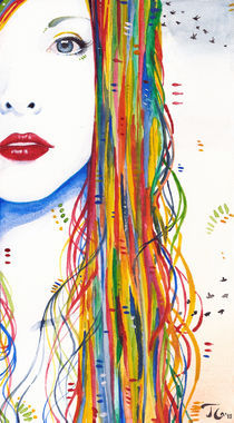 Rainbows & Blackbirds by Tanja Gotthardsen