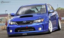 Subaru Impreza WRX STI von Sam Vesters