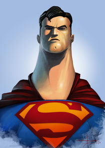 Man Of Steel von Saad  Irfan