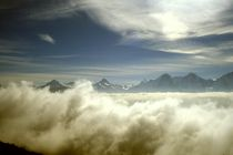 Über den Wolken by Ulrike Ilse Brück