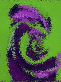 Dreaming Alien - Pinkgreen Version by Rainar Nitzsche