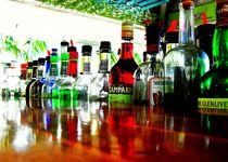 Bahamas Beach Bar by Karina Stinson