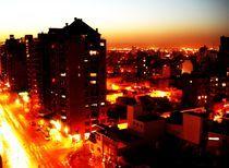 Argentinian City Lights by Karina Stinson