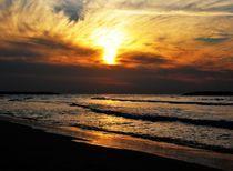 Sun & Clouds in Tel Aviv by Karina Stinson