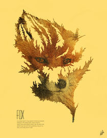 Fox (Folia Infinitus Collection) von Luis Pinto