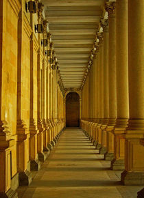 Karlovy Vary Colonnade by Juergen Weiss