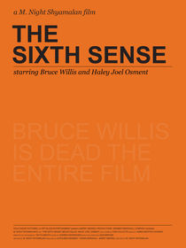Spoiler Poster! The Sixth Sense by Gidi Vigo