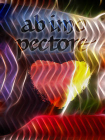 ab imo pectore poster by Lutz Baar
