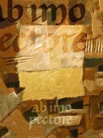ab imo pectore golden by Lutz Baar