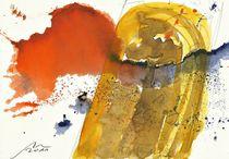 Wasser trinken und Feuer spucken by Wolfgang Wende