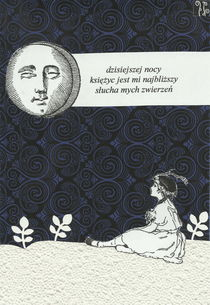 haiku 181 - confidences and the moon von Zuzanna Orzel