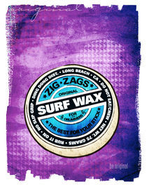 Surf Wax Made in California #2 by Dave Conrey