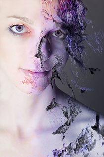 beautiful woman by Kerstin Sandstede