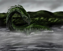 The Monster of Loch Ness by Rushelle Kucala