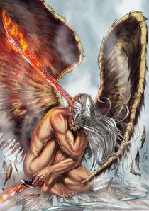 Anhell sword fire by Rafael Nangari Bade