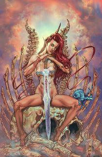 Cenit Nude warrior by Rafael Nangari Bade