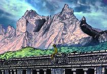 Tauca Landscape by Rafael Nangari Bade