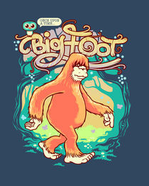 Bigfoot von John Duvengar