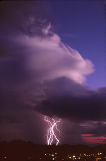 Twilight Thunderstorm by Kent Wood