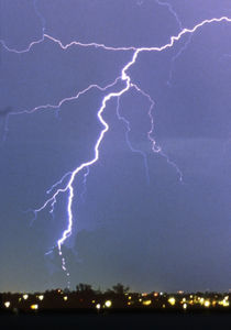 Bead Lightning II von Kent Wood