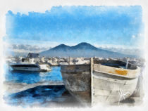 In the shadow of Vesuvius by Armando Mancini
