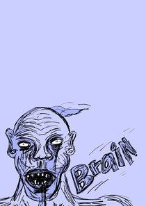 serious zombie  by michael  arnott