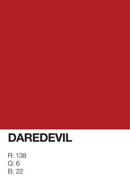 Daredevil-pantone