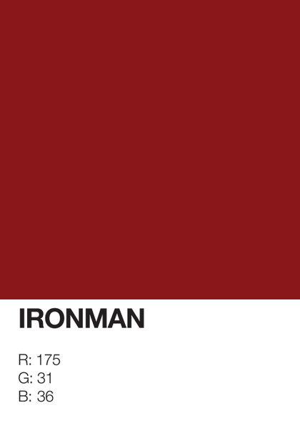 Ironman-pantone