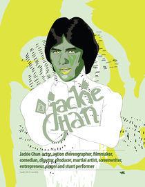 Jackie Chan von Piotr  Wojtaszek