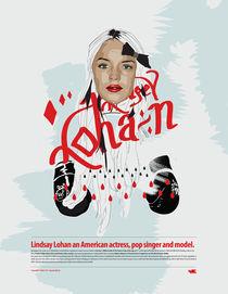 Lindsay Lohan by Piotr  Wojtaszek