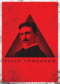 Nikola Tesla red by Sandin Medjedovic
