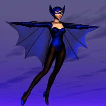Bat Lady von gustvoc