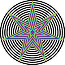rainbow heptagram 7/3 by Chandler Klebs