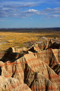 Badlands im Abendlicht by buellom