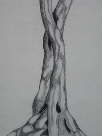Baumstamm von Katja Finke