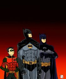 Batmen and Robin von Will  Burton