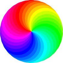 30 circle swirl 30 color palette by Chandler Klebs