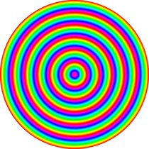 rainbow circle by Chandler Klebs