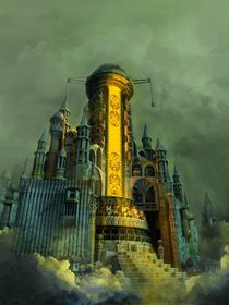 The Tower of Babel by Arseniy Korablev