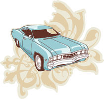 Chevrolet Impala Low-rider. by Oleksiy Tsuper