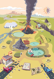 Dangerous race in a strange hazardous world.  by Oleksiy Tsuper