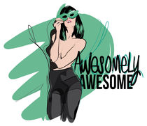 Awesomely awesome by Emilie Mathy