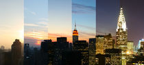 New York City Manhattan Skyline - NYC Time Lapse Photography - Zeitraffer Fotografie - landscape format von temponaut