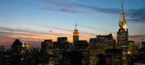 New York - Manhattan Skyline - Dawn / NY Dämmerung 02 by temponaut