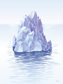 Iceberg. by Oleksiy Tsuper