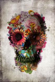 'Floral Skull' von Ali GULEC